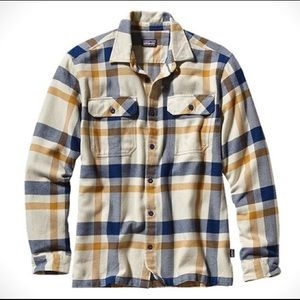 Patagonia Fjord Button Up Flannel